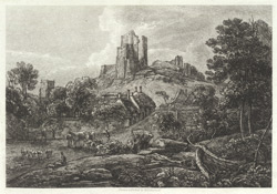 View of Corfe Castle, Dorsetshire